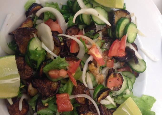 Srilankan eggplant salad