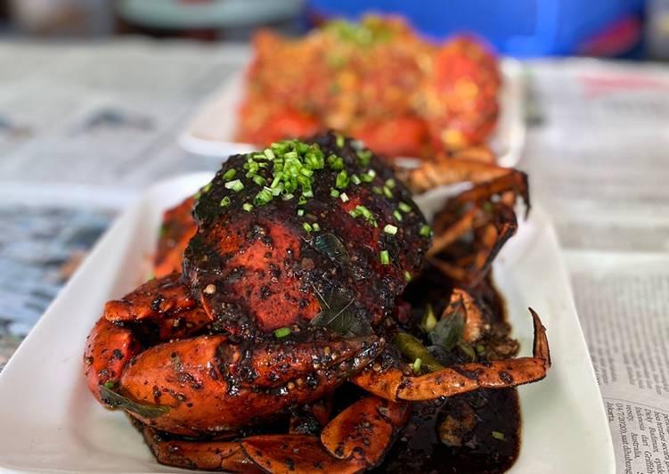 Black Pepper Sauce Crab