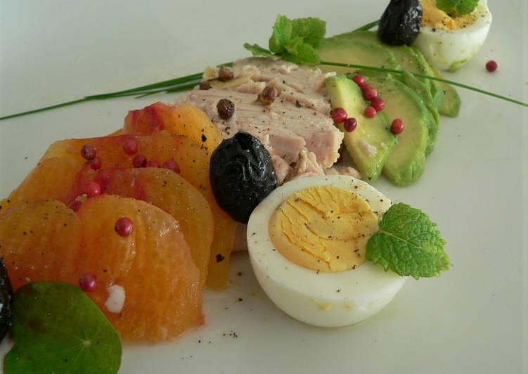 Salade au thon à l'huile