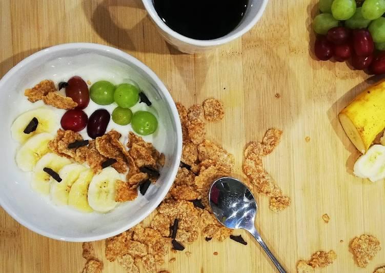 Petite déjeuner équilibré