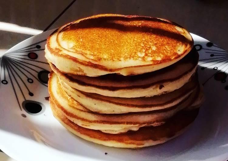 CORN FLOUR PANCAKES 🥞😋. #breakfastideas