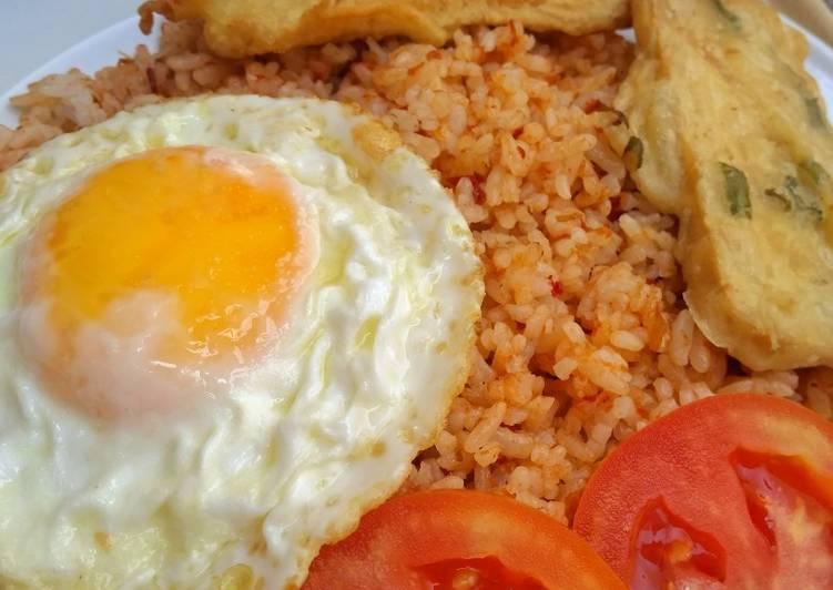 Resep Nasi Goreng Cikur Tempe Mendoan Terenak