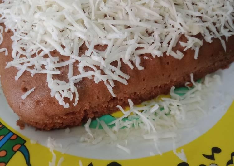 resep menyajikan Bolu pop ice sederhana satu telur - Sajian Dapur Bunda
