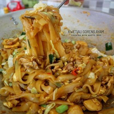 Resep Kwetiau Goreng Ayam Oleh Seto Beri Cookpad