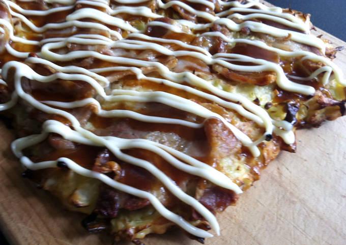 Oven-baked Okonomiyaki
