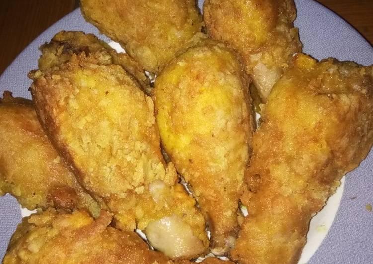 Resep Ayam Goreng Tepung Yang Enak Banget Aneka Masakan Ayam