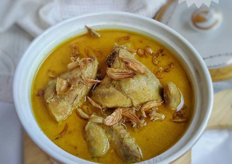 Gulai Kari Ayam