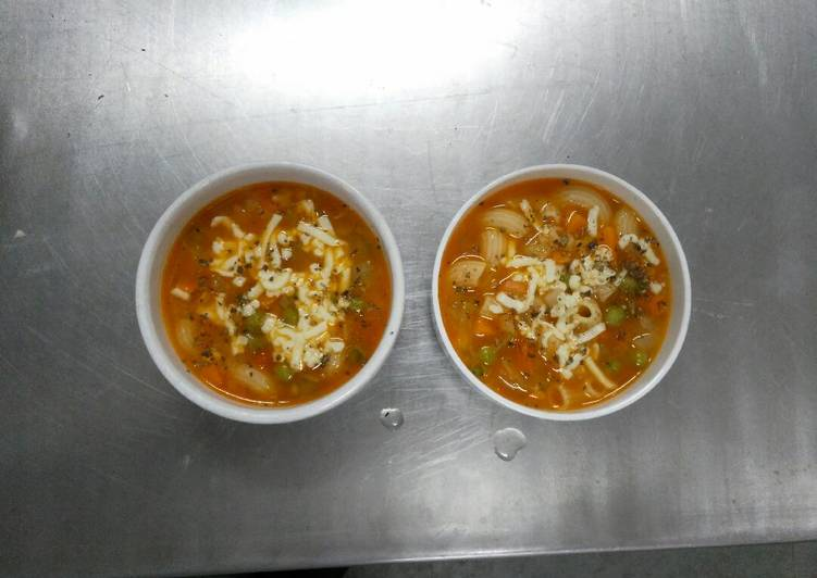 Step-by-Step Guide to Make Super Quick Homemade Minestrone soup