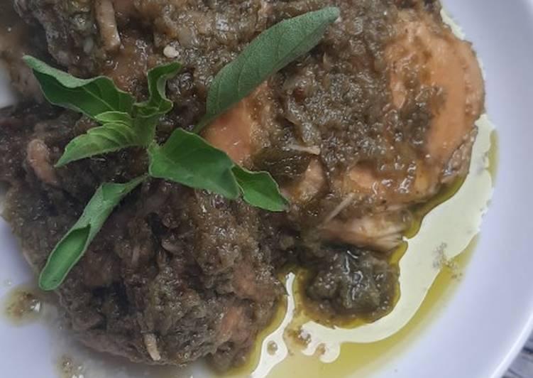 Ayam Lado Mudo (Khas Minang)