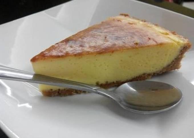 OvenBaked Cheesecake