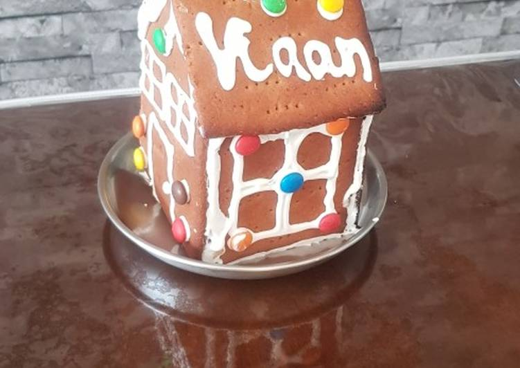 Recipe of Quick Gingerbread House