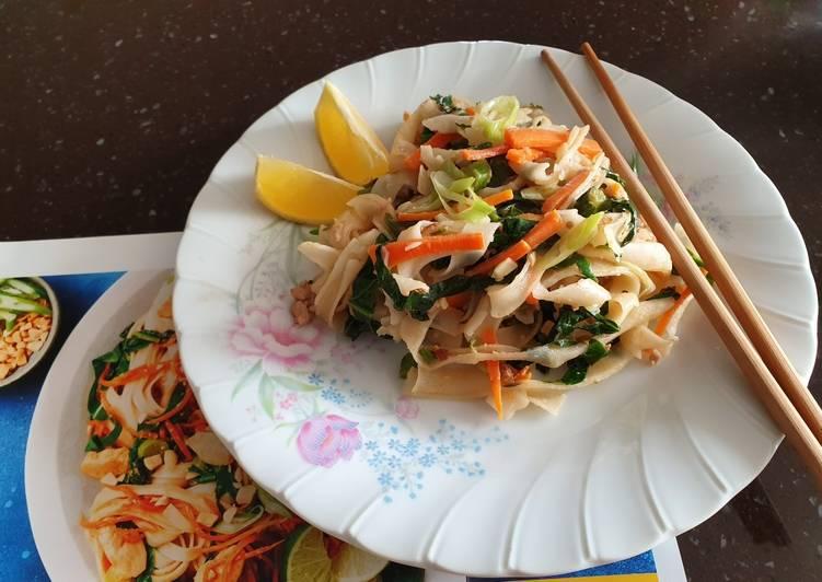 Resep Pad Thai Yang Nikmat