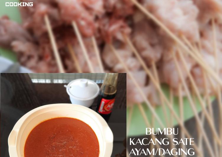 Bumbu Kacang Sate Ayam/Daging - cookandrecipe.com