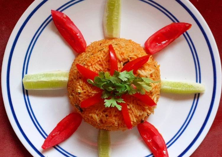 Tomato Rice (No onion & No Garlic)