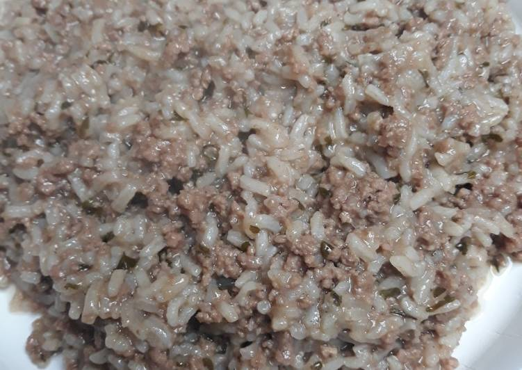 Recipe: Tasty Boiled Beef and Rice