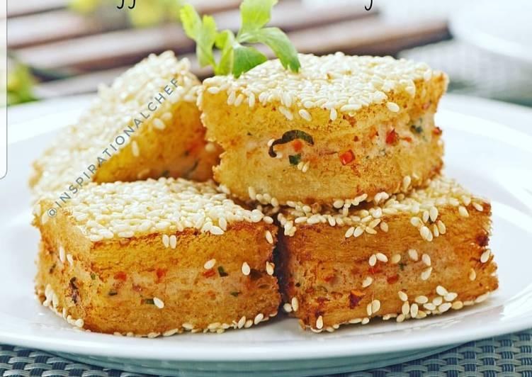 Roti Goreng Lapis Udang