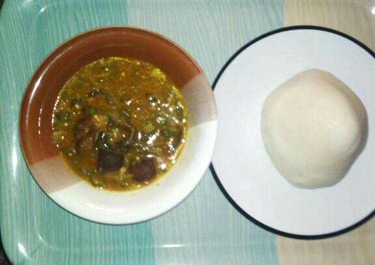 Absolutely Ultimate Dinner Easy Blends Okra and ogbonno soup