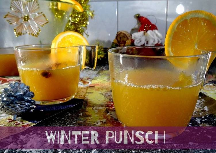 Christmas Winter-Punsch - Orangen