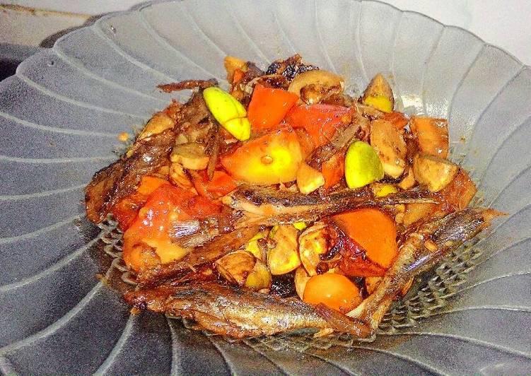 Resep Sambal ikan asin
