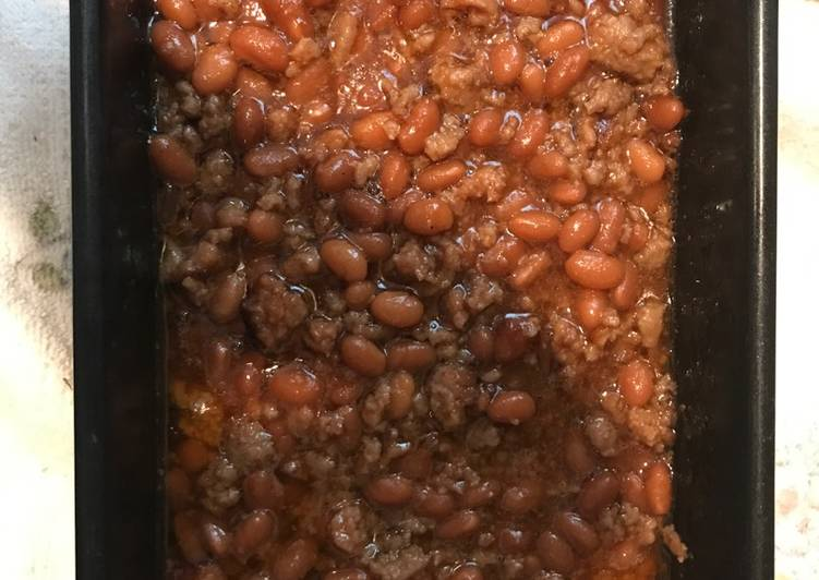 Meaty (Turkey) Baked Beans