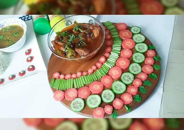 Chana Aur Khatte Pyaaz Ka chicken - Laurie G Edwards