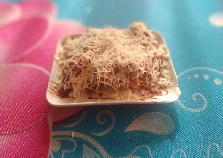 Pisang goreng coklat keju