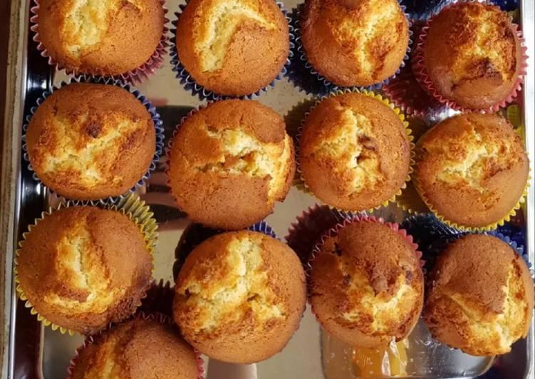 Steps to Make Ultimate Glacé cherry muffins