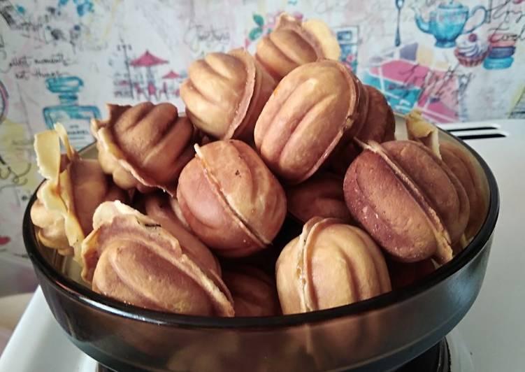 нашей орешки со сгущенкой пошаговый рецепт с фото время