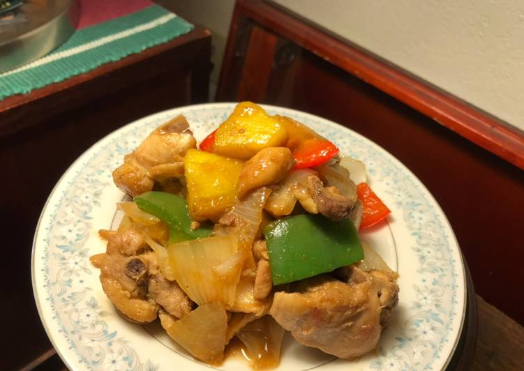Chicken and Pineapple