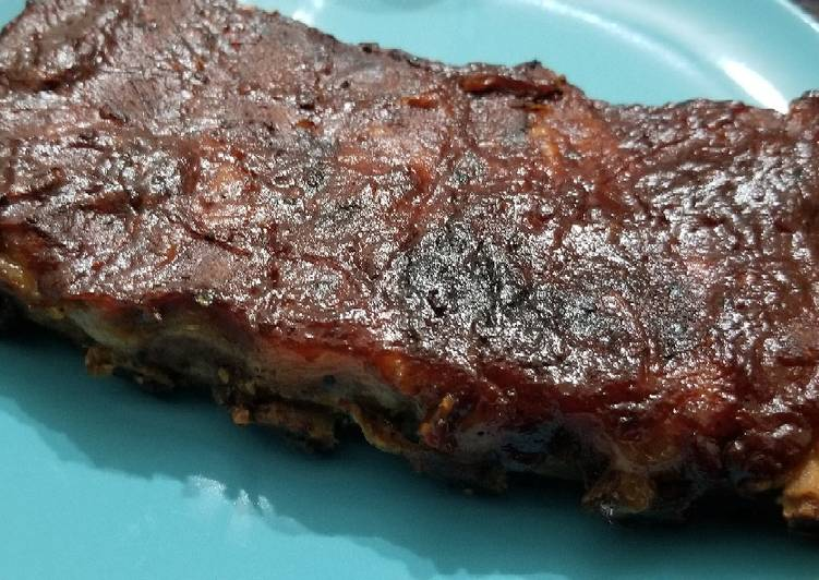 Slow Cook Fall off the Bones BBQ Ribs, Helping Your To Be Healthy And Strong with Food