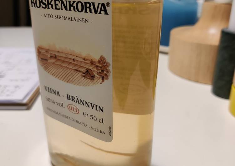 How to Make Award-winning Green tea vodka