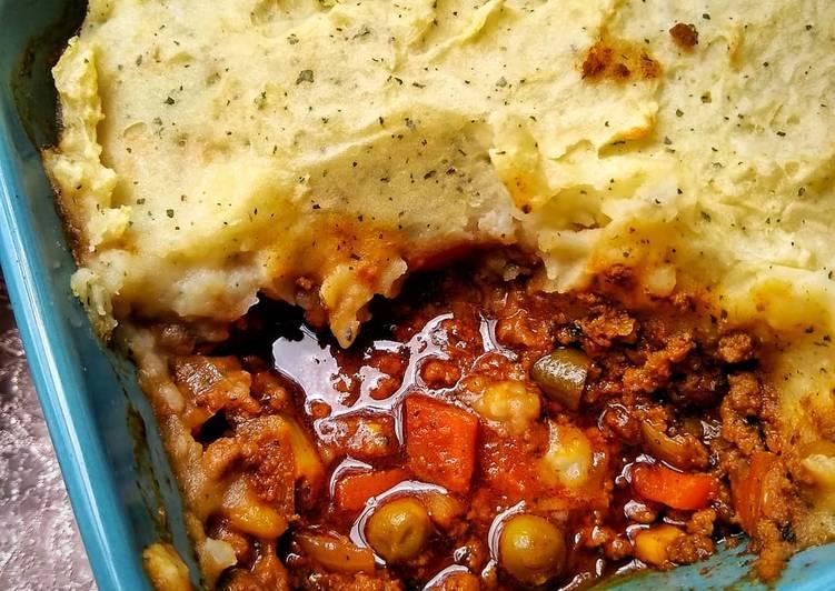 15 Minute Recipe of Diet Perfect Keema Cottage Pie