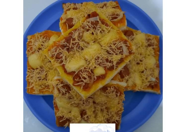 🧈 Roti Tawar Pizza 🧈
