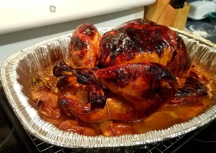 Steps to Make Homemade Apple Cider Turkey