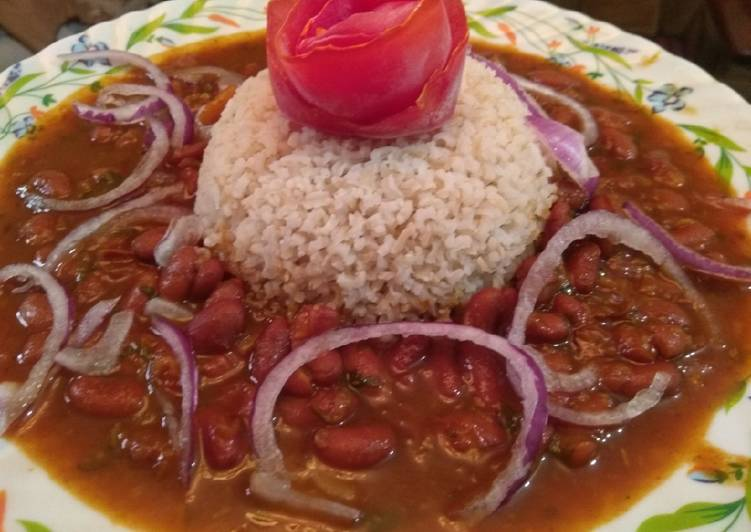 Kidney bean with rice