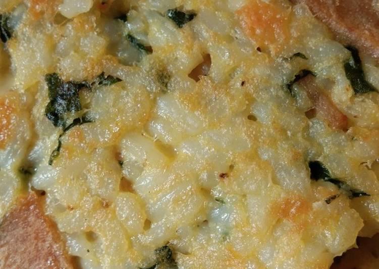 Resep Omelete nasi 1y+ Paling Mudah