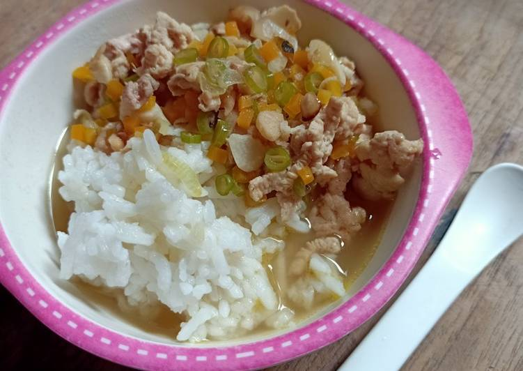Cara Gampang Buat Mpasi 1 Tahun 24 Hari Sup Ayam Negeri Sempurna