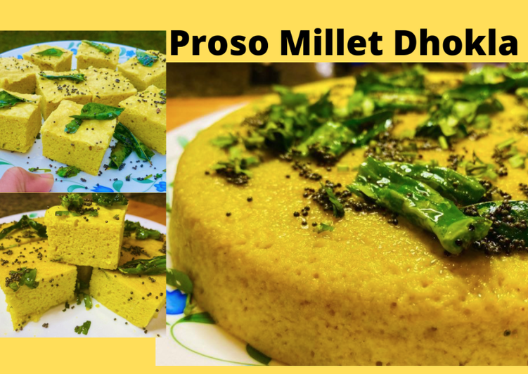 10 Minute Recipe of Love Millet Dhokla