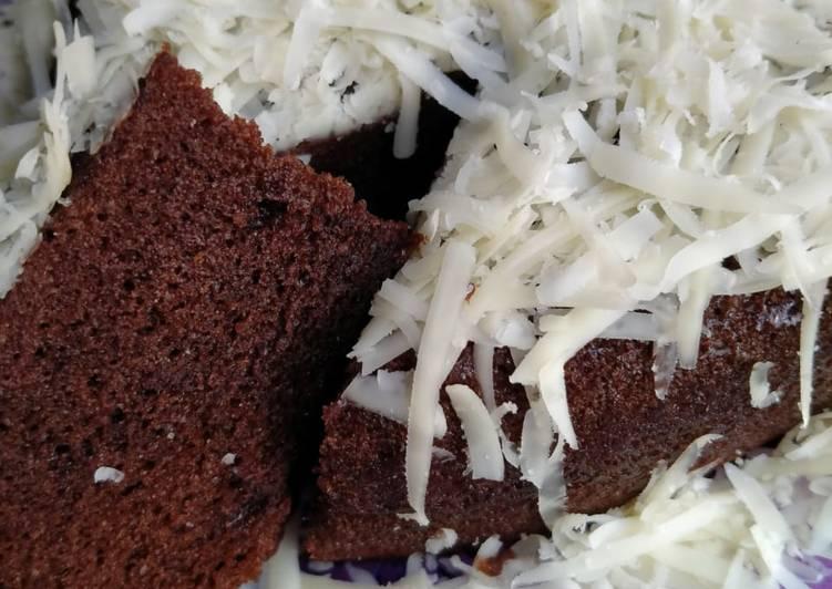 Brownies chocolatos kukus no mixer