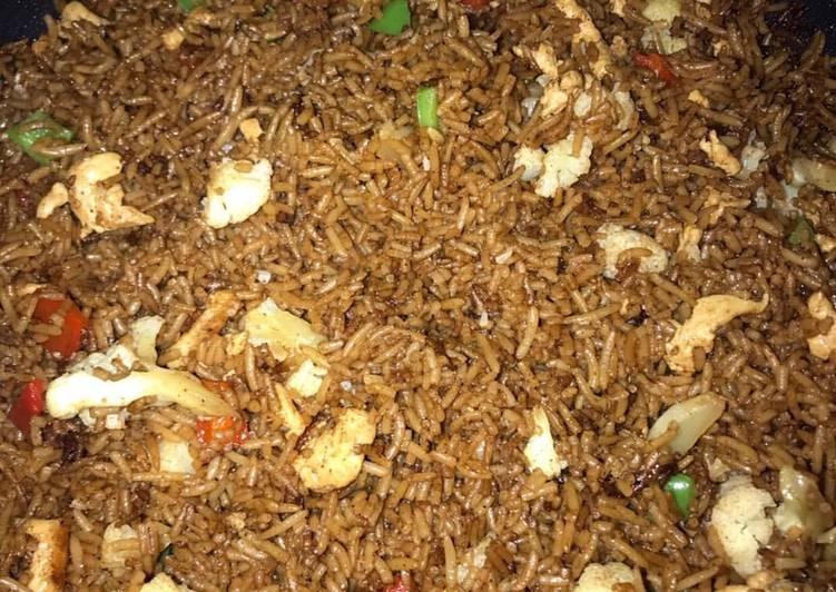 Masala brown rice