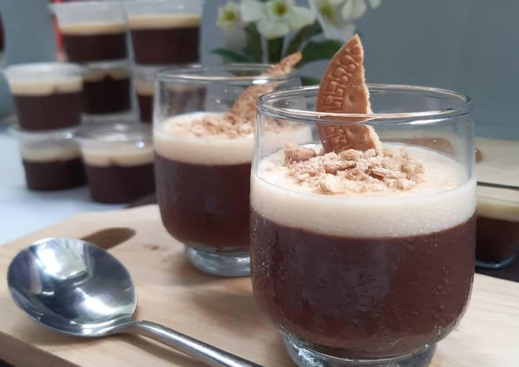 Puding coklat regal premium