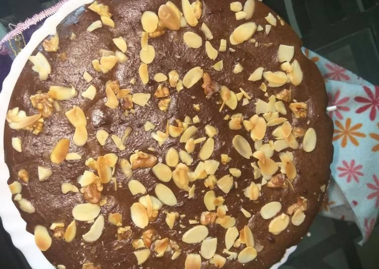 Recipe of Speedy Almond & walnut wheat cake