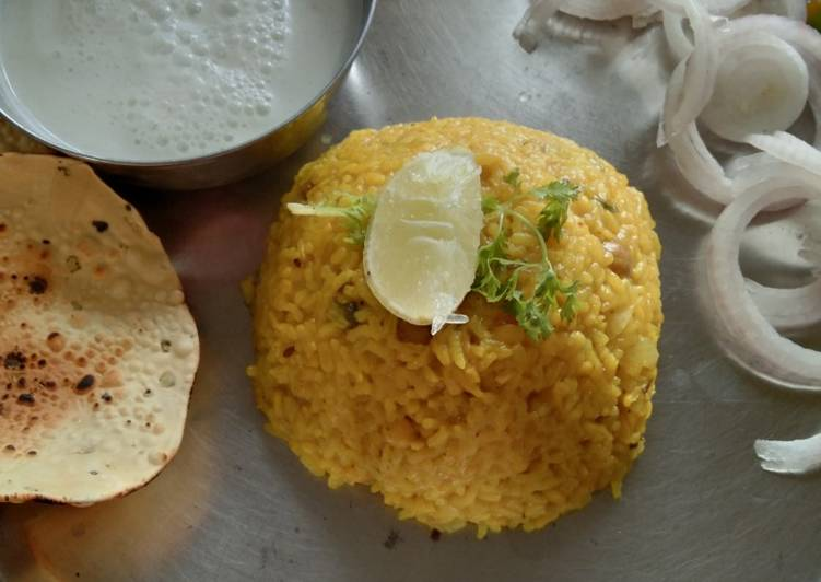 Mix dal khichdi Finding Healthful Fast Food