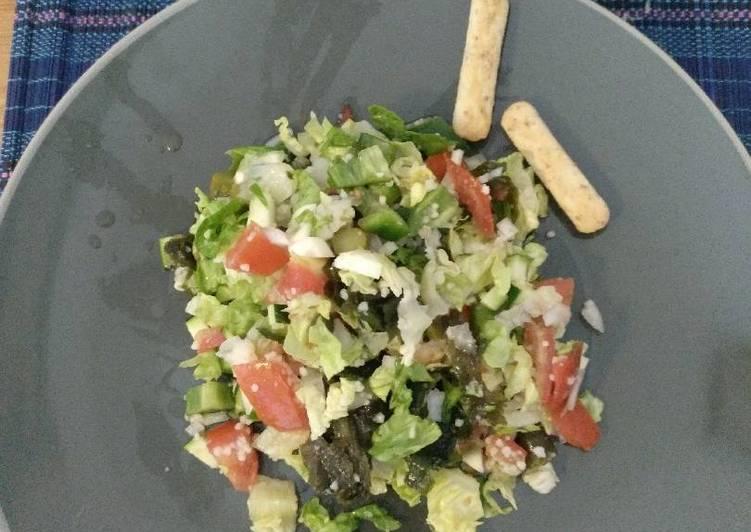 recetas de ensaladas con alga wakame