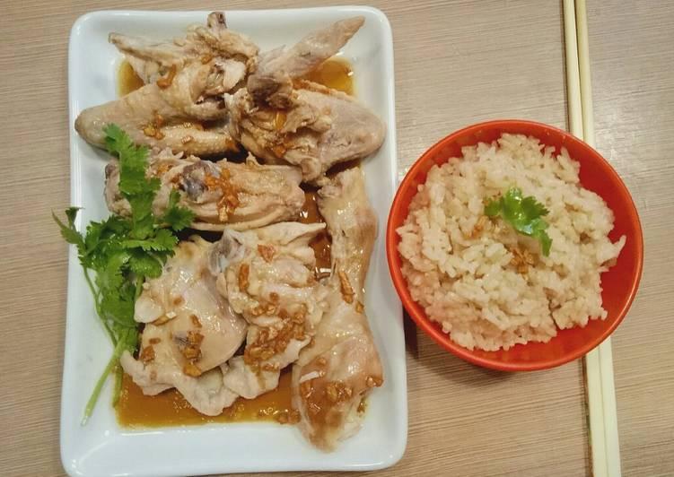 Resep Nasi Ayam Hainam Komplit Simple Enak Oleh Finny Puspitasari Muwarman Cookpad