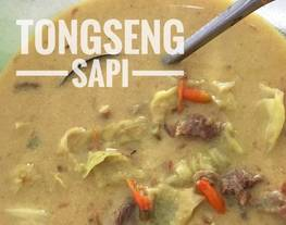 Tongseng sapi with fibercreme