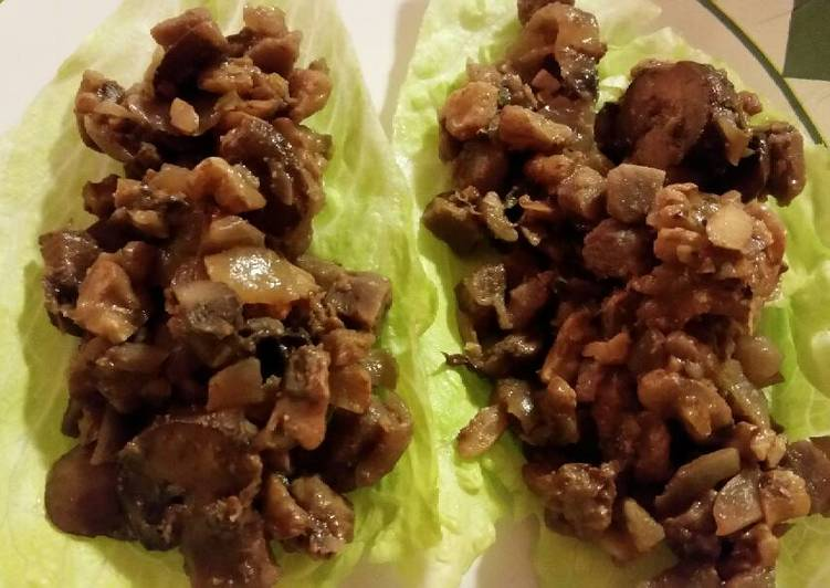 How to Make Quick Tricia lettuce wraps