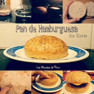 Pan Hamburguesa (Sin gluten, Sin lactosa, sin yema de huevo, sin sorbitol, sin fructosa, sin soja y sin maíz)