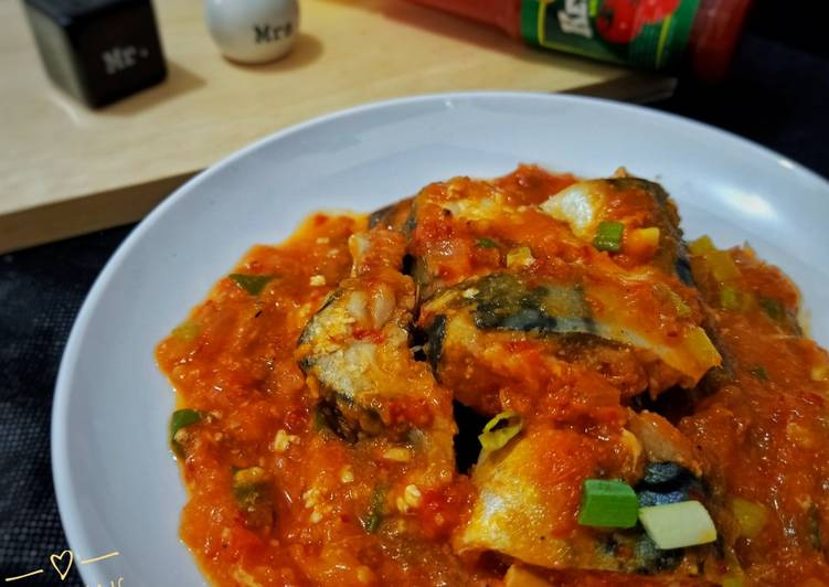 Ikan Sarden Kaleng Homemade