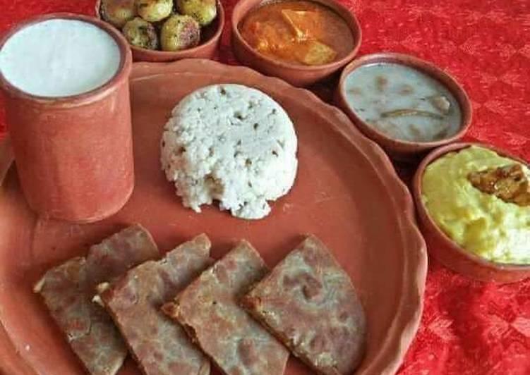 Step-by-Step Guide to Prepare Favorite Punjabi Style Falahari Thali